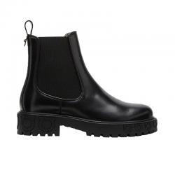salvatore ferragamo bottines Boots CommandoSF BOOTS COMMANDO 2 - CUIR - NOI