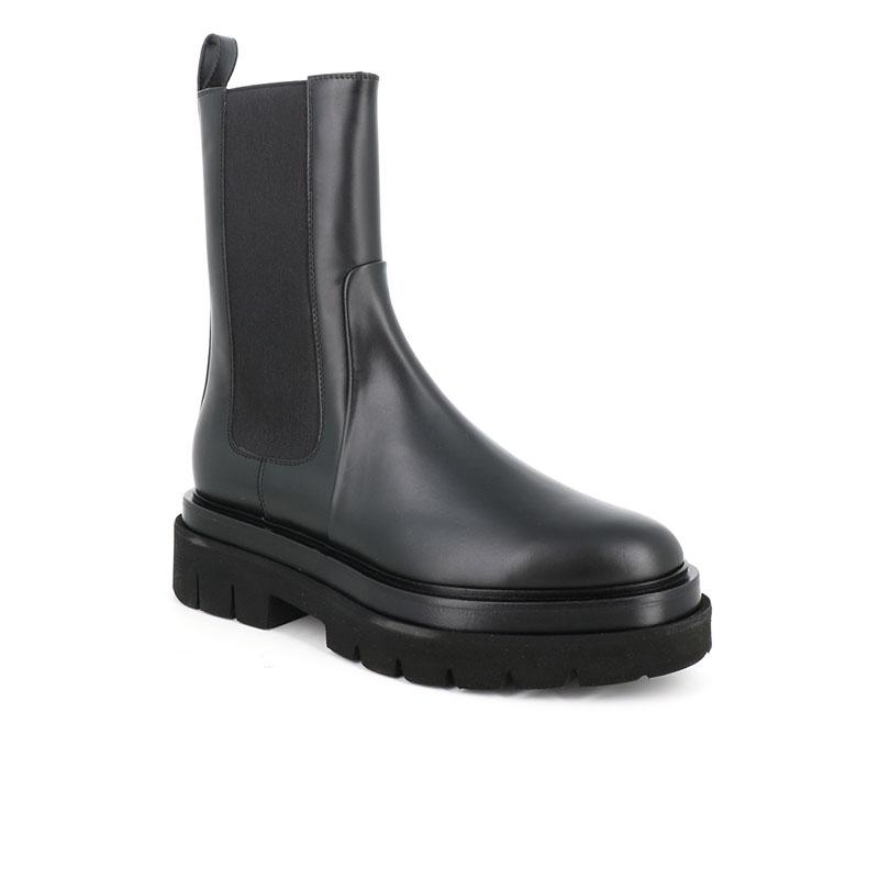 santoni bottines Chelsea Boots ErinERIN CHELSEA - CUIR - NOIR