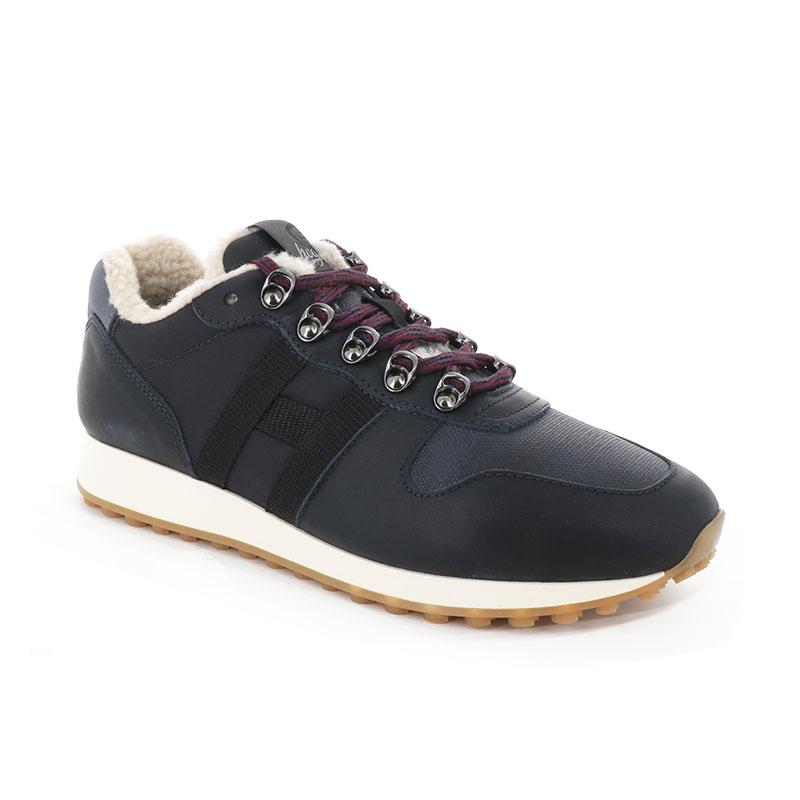 hogan sneakers Sneakers H383HH H383 (1) - CUIR ET TISSU TECH