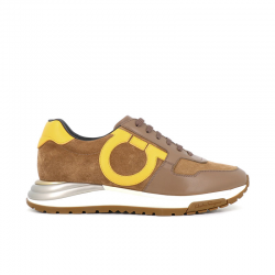 salvatore ferragamo sneakers Sneakers BrooklynSF H SNK BROOKLYN - CUIR BICOLOR