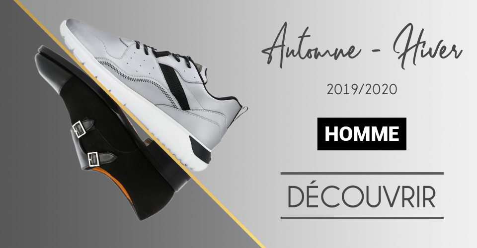 Nouvelle collection chaussures homme AH 19/20