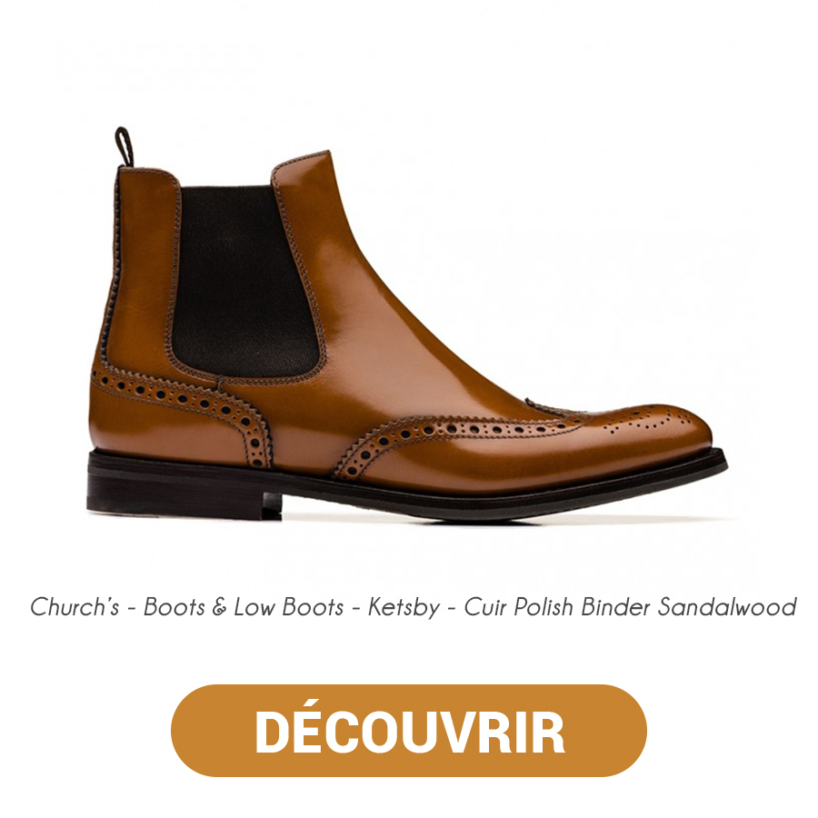 Churchs Boots & Low Boots - Ketsby - Cuir Polish Binder Sandalwood