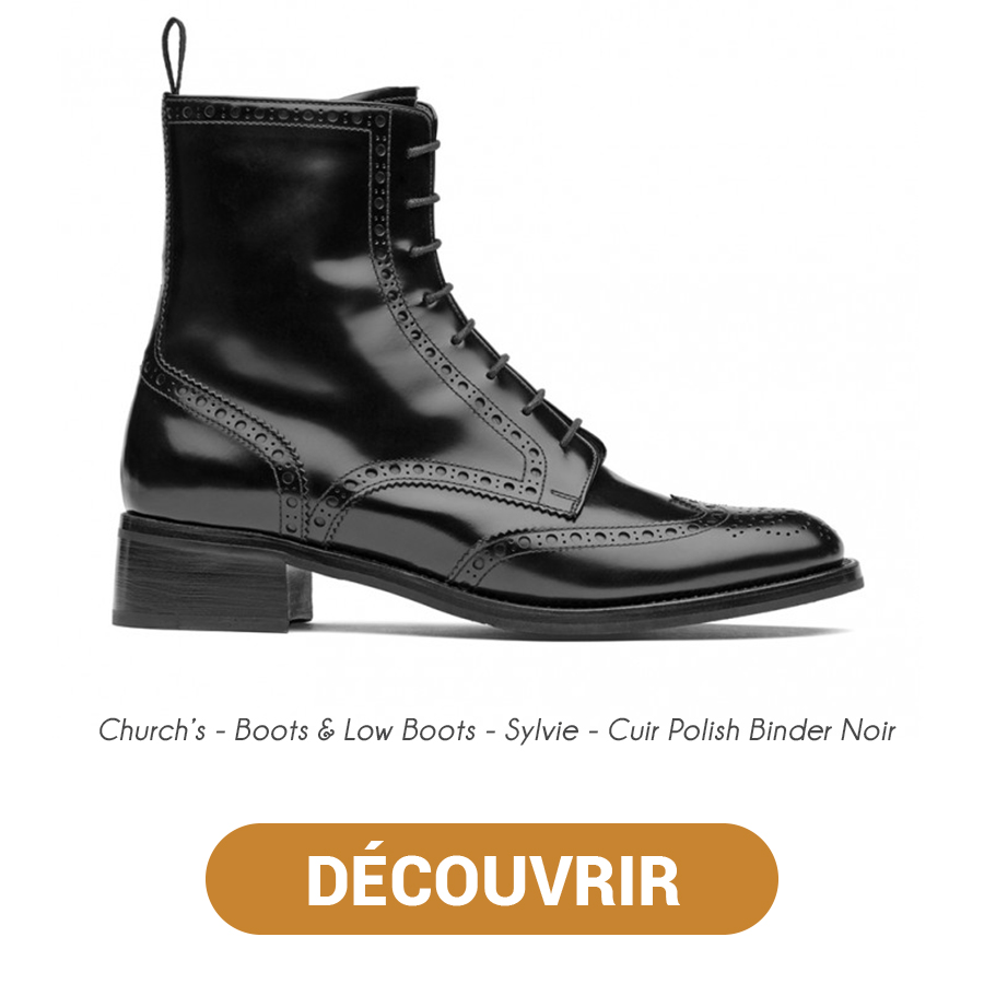 Churchs Boots & Low Boots - Sylvie - Cuir Polish Binder Noir