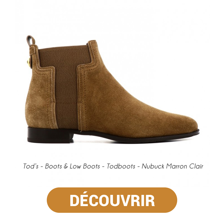 Tods - Boots & Low Boots - Todboots - Nubuck Marron Clair