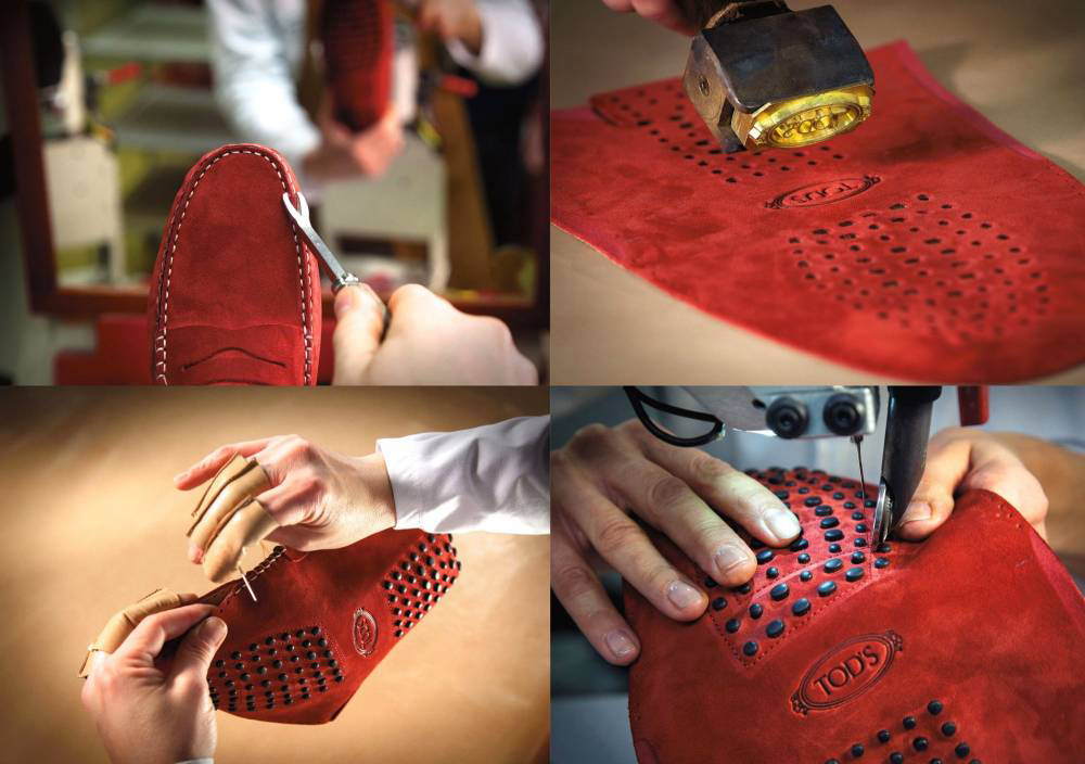 Conception et fabrication italienne - Gomino Tod's