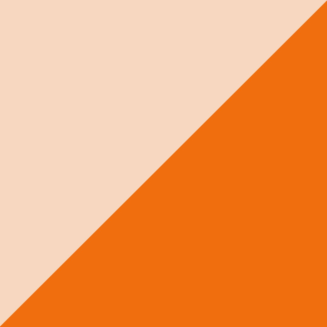 Beige et orange