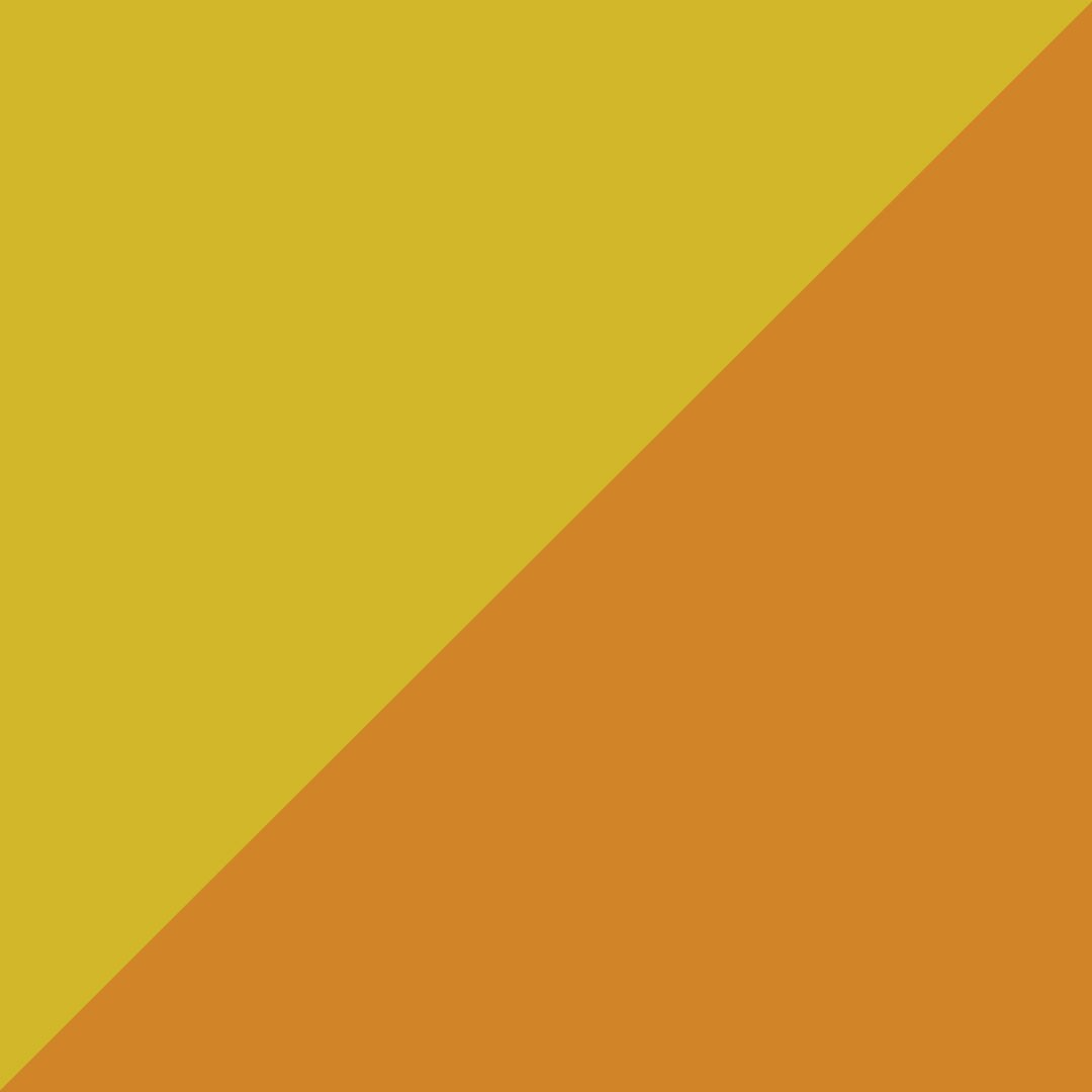 Jaune et orange