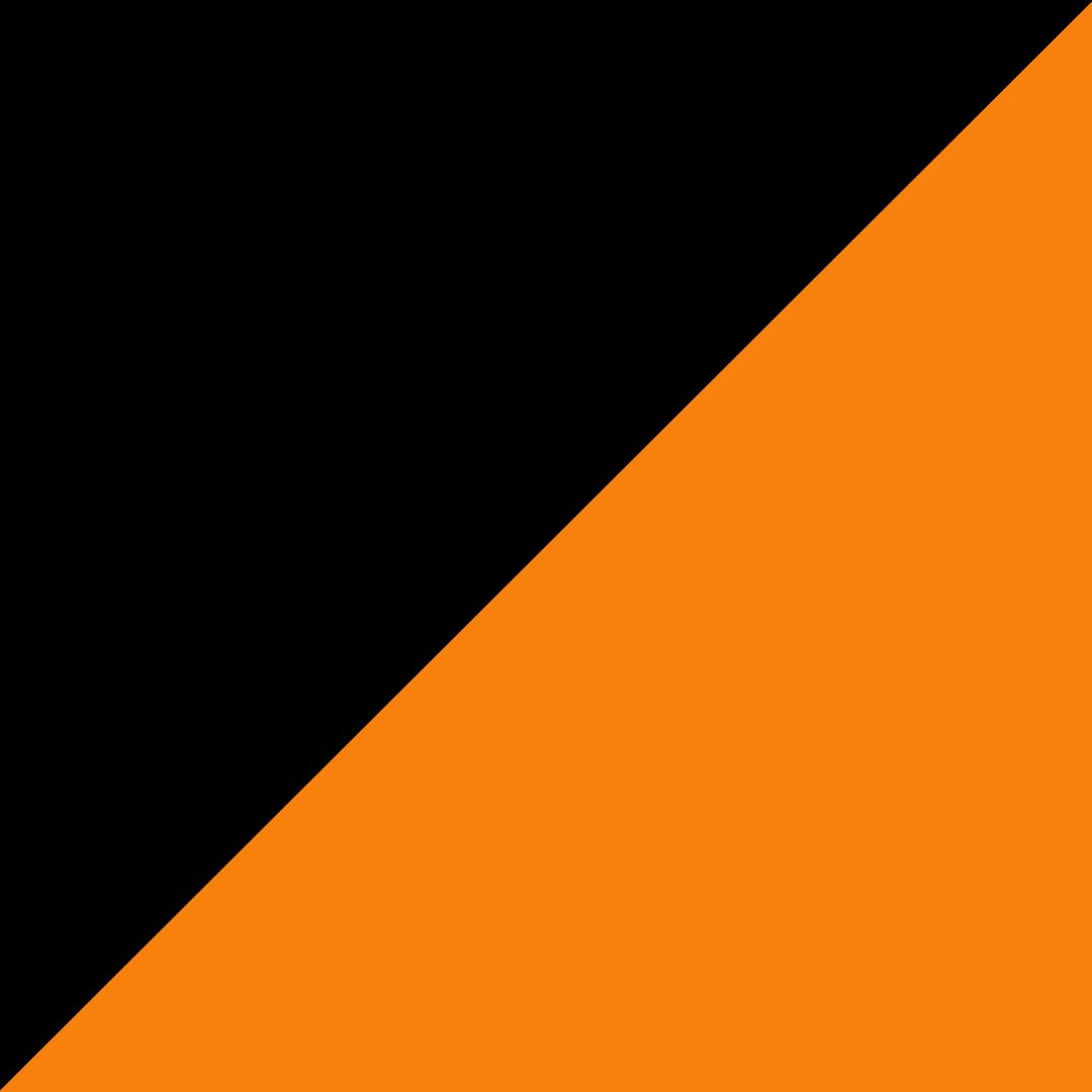 Noir et orange